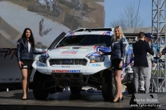 Tým South Racing představil nový vůz pro Dakar 2018
