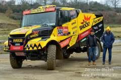 Poslední trénink s Karlem před Dakarem 2020