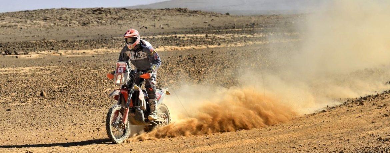 Jan Veselý na rallye Dakar 2020